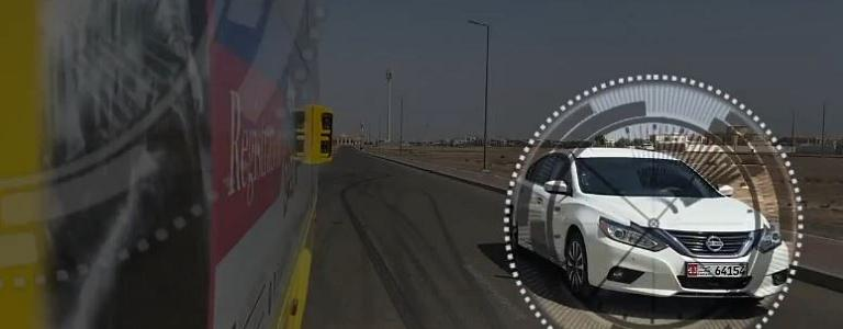 Abu Dhabi Police activates the automatic monitoring system for violators of the stop sign