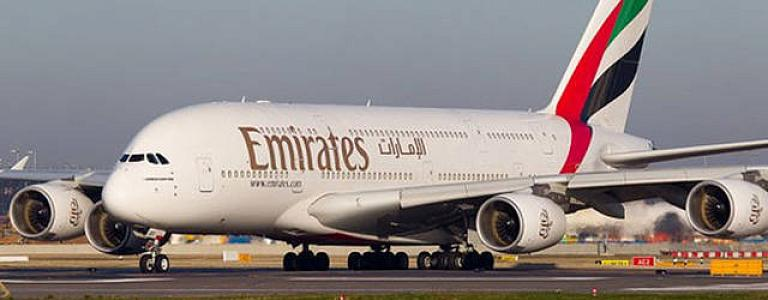 Emirates Airlines launches the first daily service for passengers, starting in October