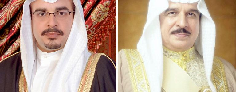 His Majesty the King receives a congratulatory cable from His Highness, the Crown Prince, the Prime Minister